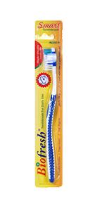 فرشاة الأسنان الذكية باللون الأزرق