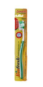 فرشاة الأسنان الذكية باللون الأخضر