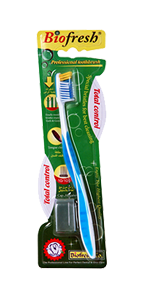 Toothbrush Total control blue