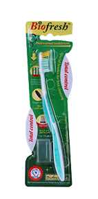 Toothbrush Total control green