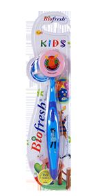 فرشاة أسنان الأطفال باللون الأزرق